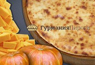 Постный осетинский пирог с тыквой