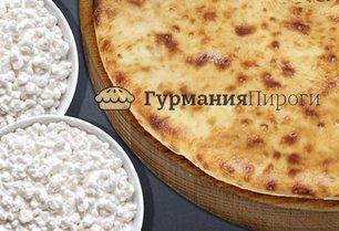 Сладкий осетинский пирог с творогом