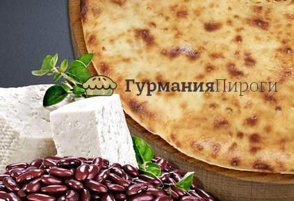 Осетинский пирог с фасолью и сыром