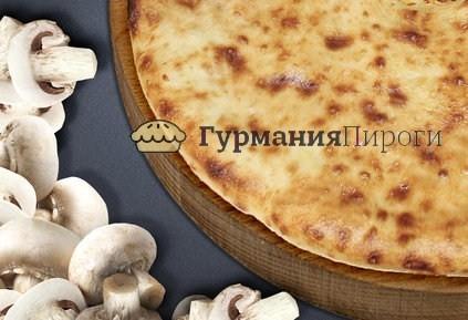 Постный осетинский пирог с грибами