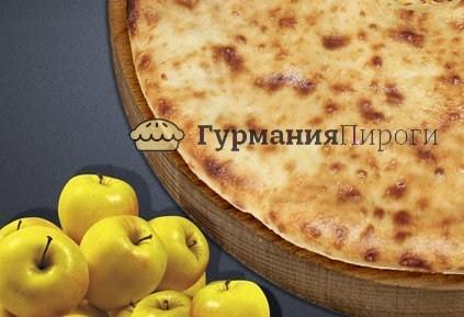 Сладкий осетинский пирог с яблоками