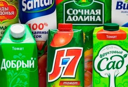 Фруктовый сок 1 л.